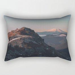 Silver Star Rectangular Pillow