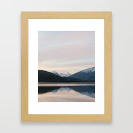 Wanaka Sunset Framed Art Print