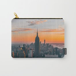 Top Of The Rock at Sunset Carry-All Pouch