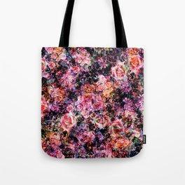 Polychromatic Roses Tote Bag