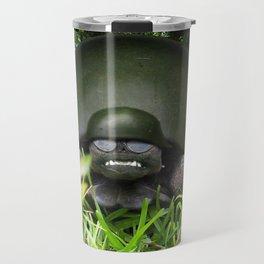Slow Commando - Army Turtle Travel Mug