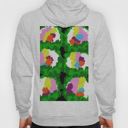 Flowers for Mark Rothko and Cézanne. Hoody