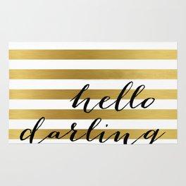 Hello Darling Rug