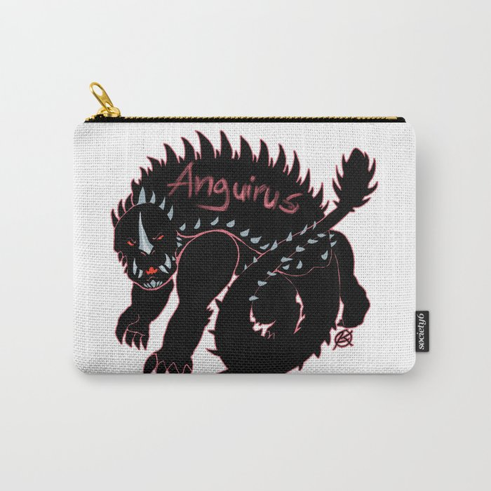 Anguirus Kaiju Print FC Carry-All Pouch