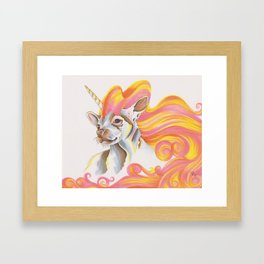 Chihuacorn Framed Art Print
