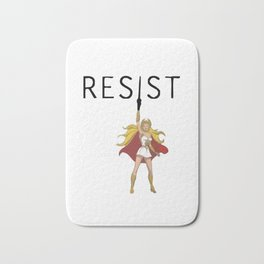 She-Ra says RESIST Bath Mat
