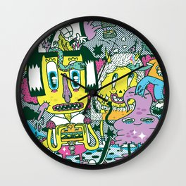 Catching Ideas. Wall Clock