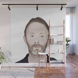 Thom Yorke Vector Wall Mural