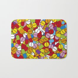 Lots of Pills Bath Mat