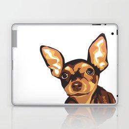 Billie the Miniature Pincher Puppy Laptop & iPad Skin