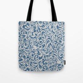 Scroll Pattern Tote Bag