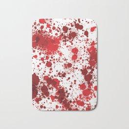 Blood Splatter Bath Mat