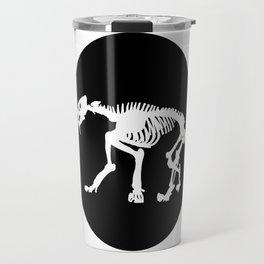 Saber toothed tiger skeleton Travel Mug