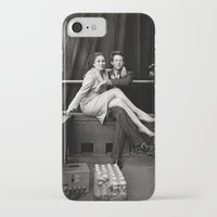 wes anderson iPhone & iPod Cases featuring WES & ANJELICA by VAGABOND