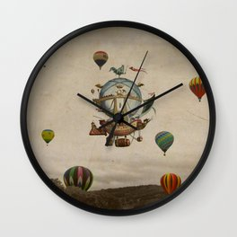La Minerve 1803  travel in style Wall Clock