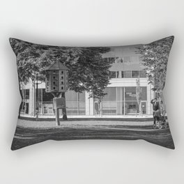 Not yet ready to leave the nest Rectangular Pillow