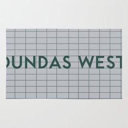 DUNDAS WEST | Subway Station Rug
