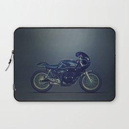 Honda GB Clubman vintage racer dark Laptop Sleeve