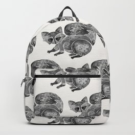 Raccoon – Warm Grey Palette Backpack