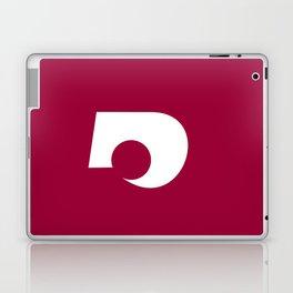 kumamoto region flag japan prefecture Laptop & iPad Skin
