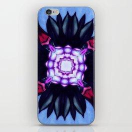 Kaleidoflower 2 iPhone Skin