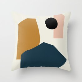 Shape study #1 - Lola Collection Throw Pillow
