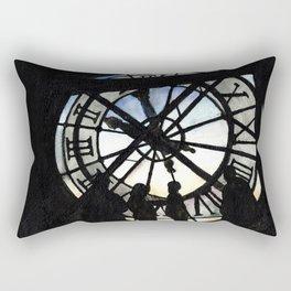 Musée d'Orsay Clock Rectangular Pillow