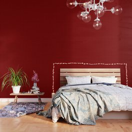 Mini Red and Black Coutry Buffalo Plaid Check Wallpaper