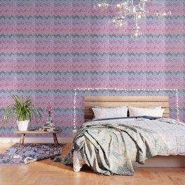 Unicorn Glitter Chevron #1 #pastel #shiny #decor #art #society6 Wallpaper