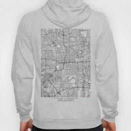 Orlando Map White Hoody
