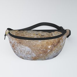 Tiny golden crystals from a geode Fanny Pack