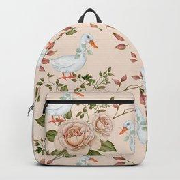Goose Rose Backpack