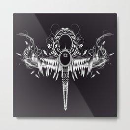Ankh - spiritual symbol Metal Print