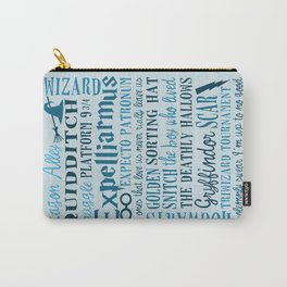 Harry Potter - All Quotes  Carry-All Pouch