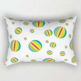 Beach Balls Rectangular Pillow
