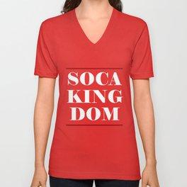 Soca Threads : Soca Kingdom 2018 Shirt Unisex V-Neck