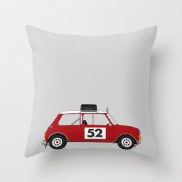 Mini - Monte Carlo Rally Throw Pillow