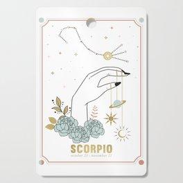Scorpio Zodiac Series Cutting Board