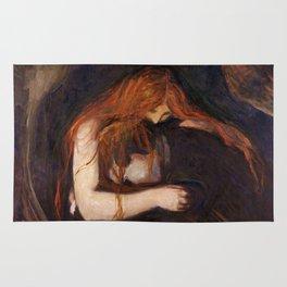Vampire by Edvard Munch Rug