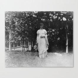 Thomas Eakins 1910 Photograph Canvas Print