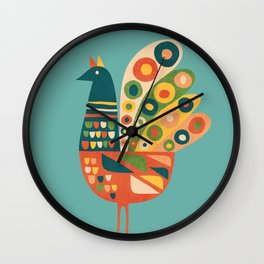 Century Hen Wall Clock