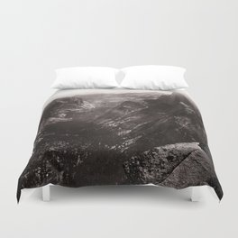 Half Dome, Yosemite Valley, California Duvet Cover