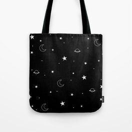 Midnight Doodles Tote Bag