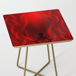 Color Meditation - Red Side Table