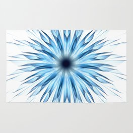 Ice Flower Rug