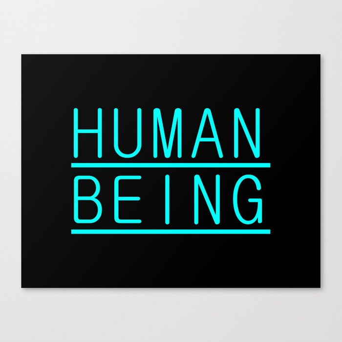 Human Canvas Print