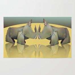 rhinos Rug