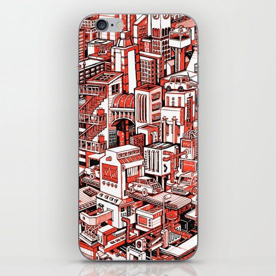 City Machine iPhone & iPod Skin