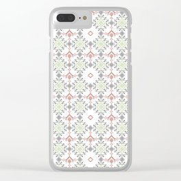 Ethnic ornament Clear iPhone Case