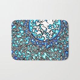 Blue Fire (2) Bath Mat